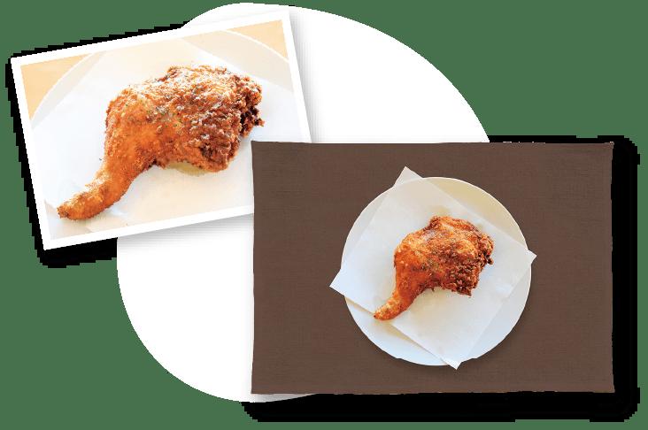 モモ骨付カレー味の画像